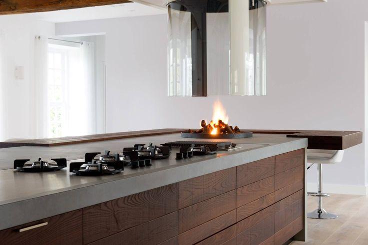 Boley hangende glashaard 186 - keuken van JP walker - UW-haard.nl