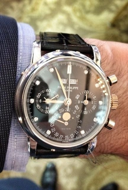 Patek Philippe, by far the worlds greatest. You never actually own one you, you simply take care of it for the next generation.