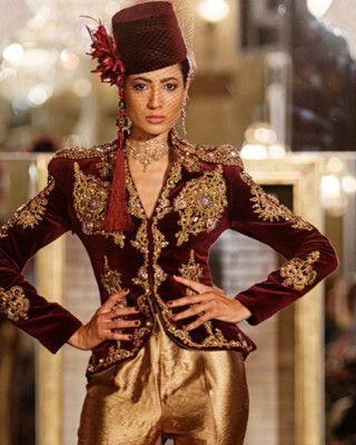 Rym Menaifi-menouba-oriental fashion show 2017 marrakech