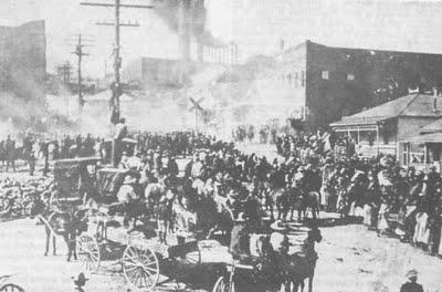 Manifestación en Cananea, Sonora, 1906  Archivo fotográfico Casasola