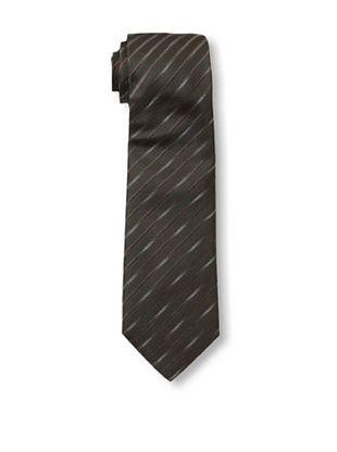 38% OFF Armani Collezioni Men's Stripe Tie, Espresso