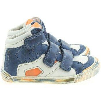 toffe Trackstyle jongens hoge schoenen jongens sneakers (Blauw)