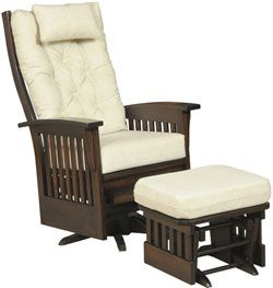 Amish Outlet Store : Deluxe Bow Back Swivel Glider In Oak. Find This Pin  And More On Amish Furniture Portland Oregon ...