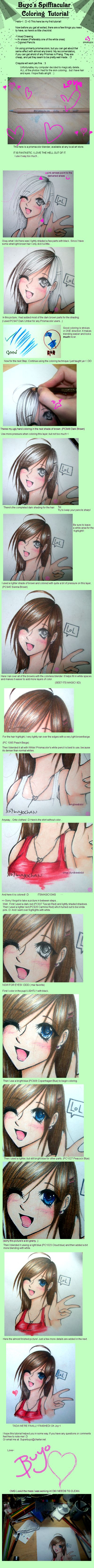 Colored Pencil Tutorial by ~buyochan on deviantART