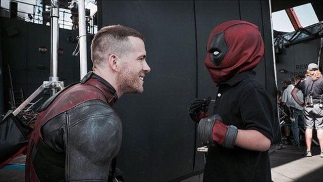 Ryan Reynolds stars in Marvel's upcoming superhero flick Deadpool, but his most heroic action happened off camera on Friday.