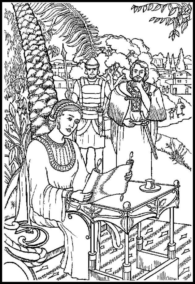 deborah judges bible coloring pages | 60 best images about DEBORAH THE JUDGE !!! on Pinterest