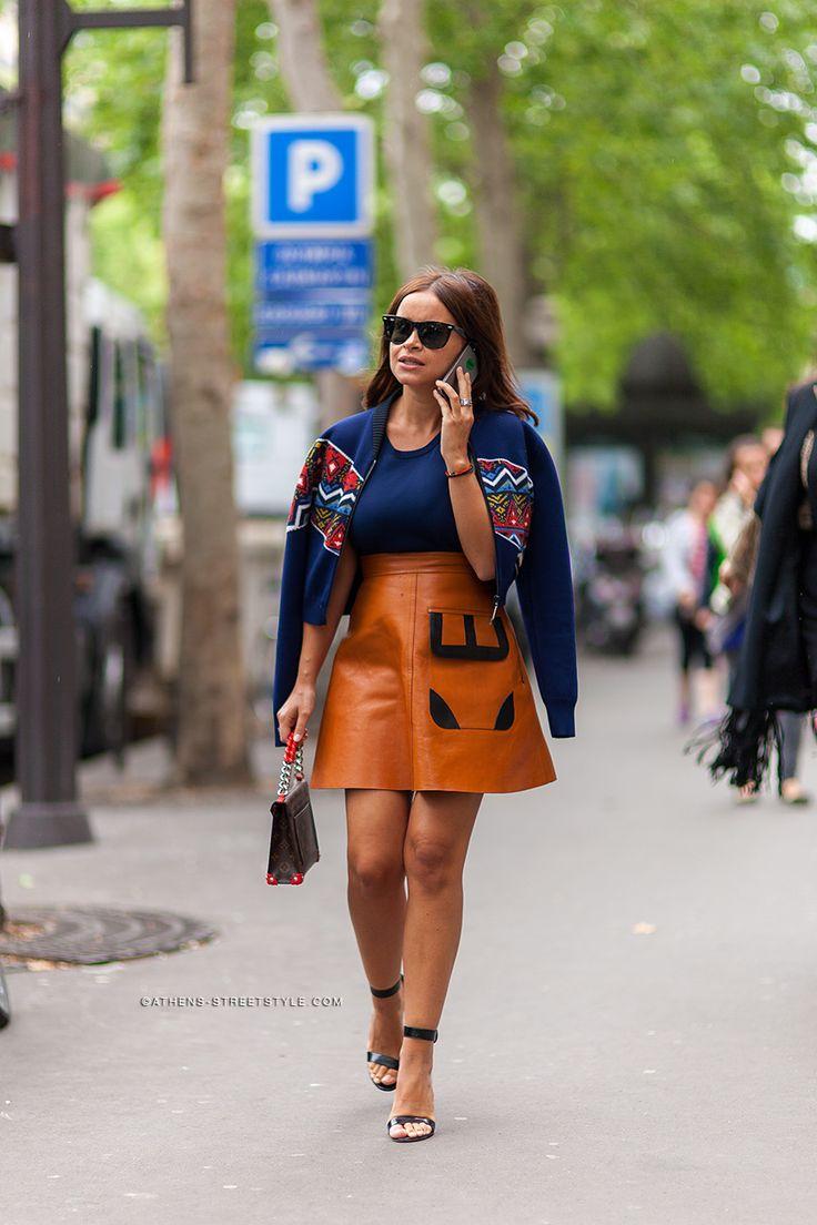 Miss Mira working Louis Vuitton in Paris. #MiroslavaDuma