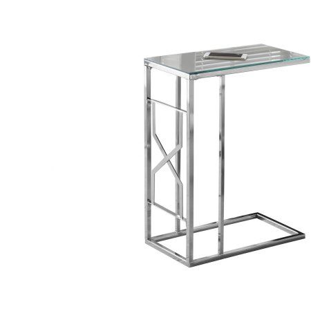 Free Shipping. Buy Chrome Metal Accent Table with Mirror Top at Walmart.com