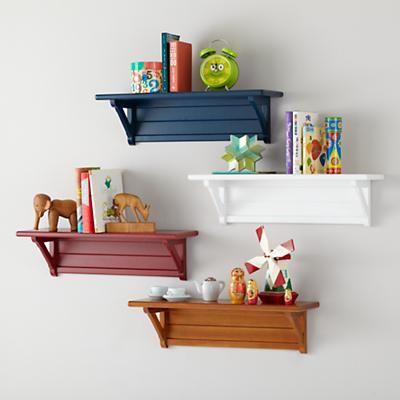 Kids' Shelves: Kids Mounting Wall Shelves in Shelves