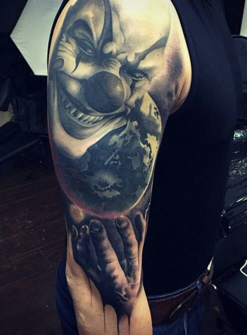 Pin by tattoo crazy on horror tattoos pinterest for Mobile tattoo artist