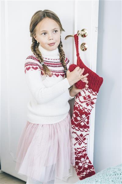 Tema 40: 11 Julestrømpe #jul #strikk #christmas #knit