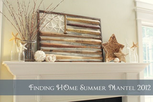 Summer Mantel from Finding Home