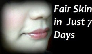 Natural Remedies To Get Fair Skin in 7 Days - thebeautymadness