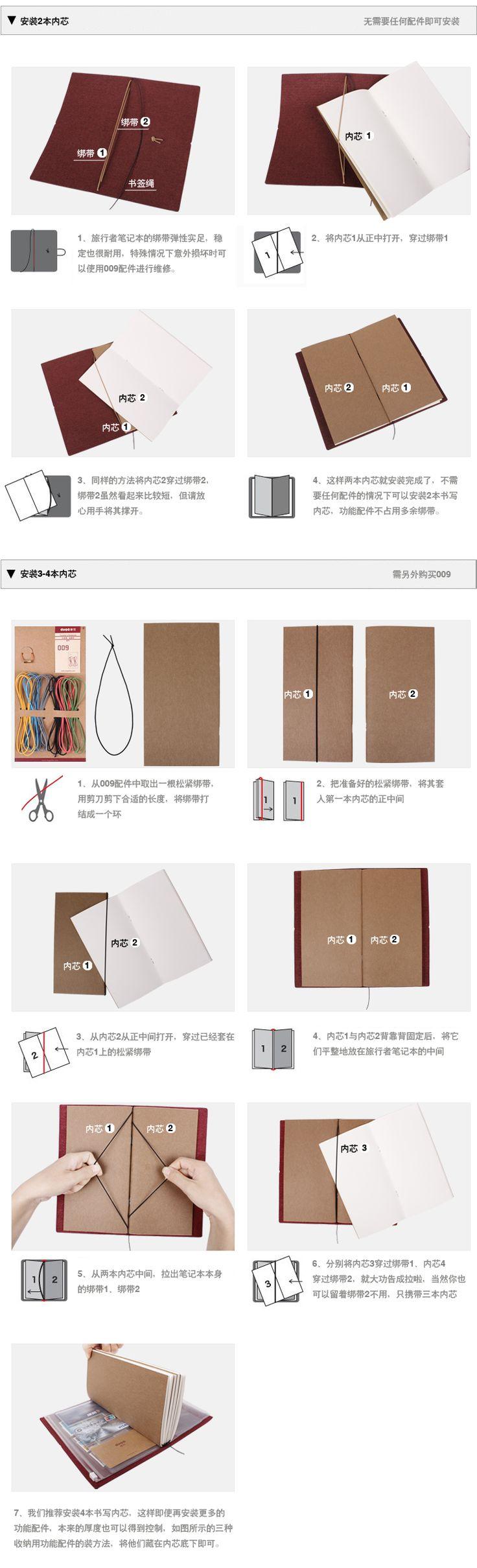 水洗纸记事本子复古Traveler's Notebook 日记商务日程创意笔记本 - 哇噻网