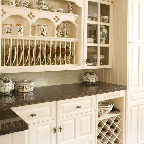 53 best images about kitchens on pinterest farmers sink for Cottage style kitchen units