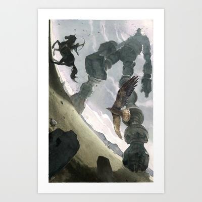 Shadow Art Print by Chad Gowey - $18.00