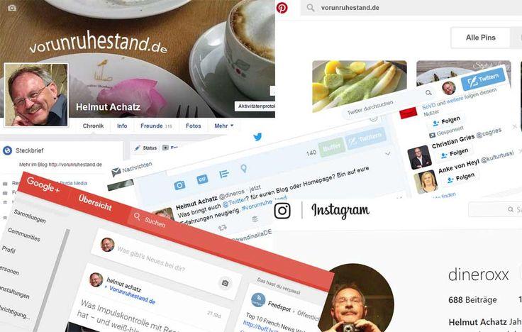 Facebook, Twitter, Instagram, Snapchat, Pinterest, Xing, LinkedIn, WhatsApp, YouTube, Google+ - schwer, Überblick über Vielzahl sozialen Netze.