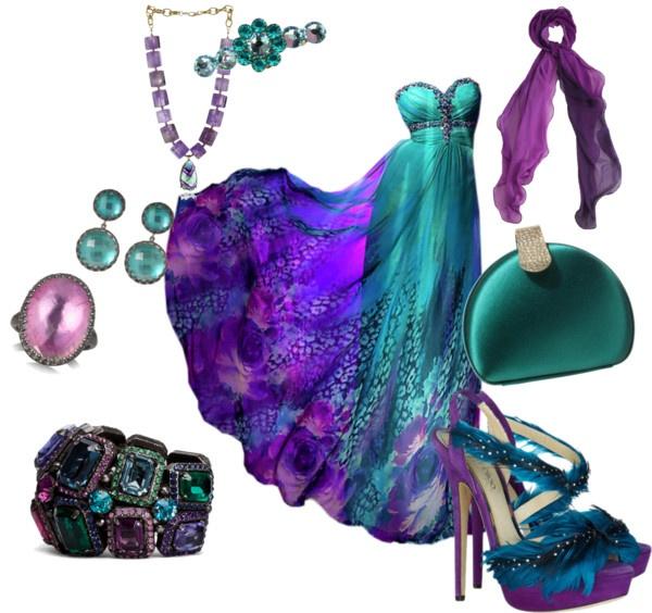 Evening dresses polyvore
