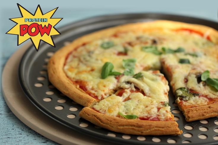 Protein Pizza Recipe! This is the absolute best protein pizza on EARTH. Try it today!