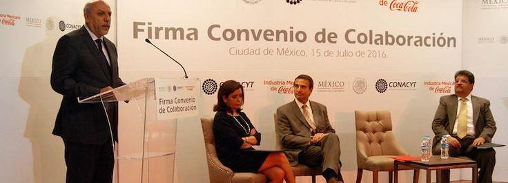 El Conacyt y Coca-Cola firman convenio para promover la investigación en México