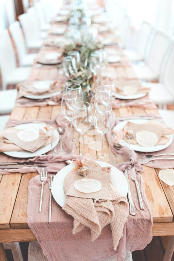 31 best *TABLE* images on Pinterest Harvest table decorations - farbe puderrosa kombinieren wohnen