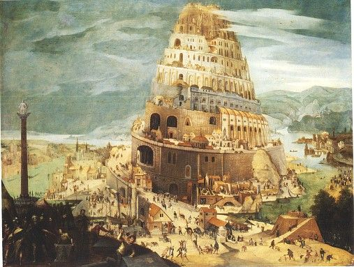 The building of the Tower of Babel and the Confusion of Tongues (languages) in ancient Babylon is mentioned rather briefly in Genesis Chapters 10 and 11.