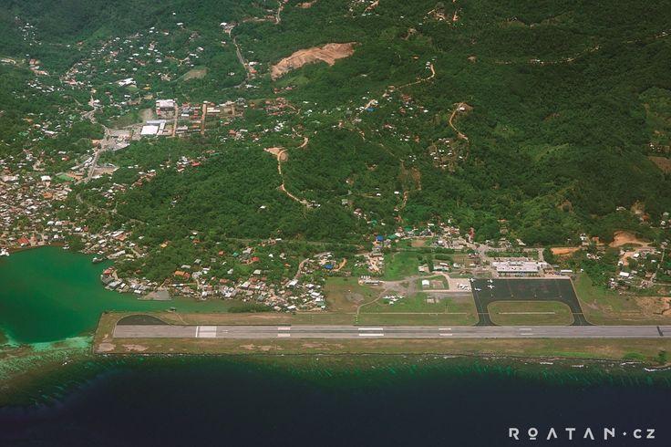 Ostrov Roatán letiště - airport