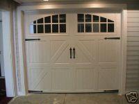 DIY Creating A Faux Carriage Garage Door