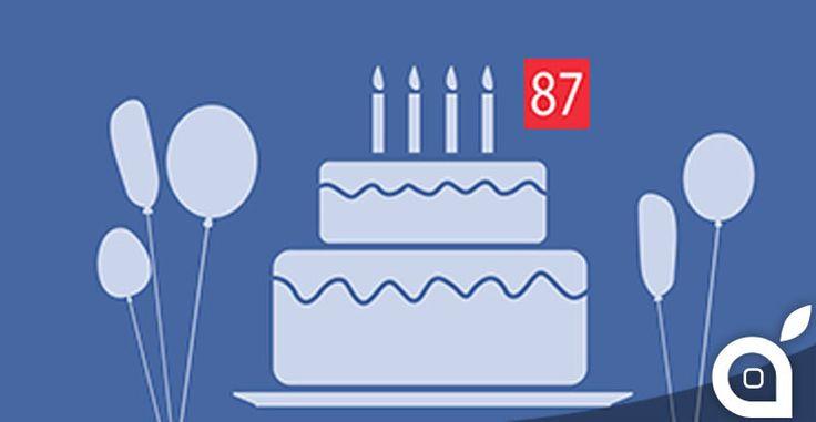 Facebook testa linvio di video-messaggi di auguri di compleanno