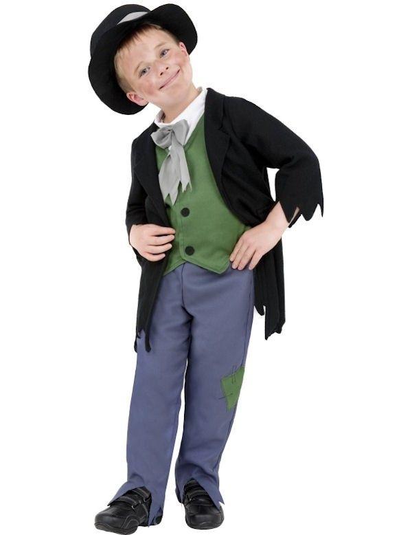 Louche Victoriaanse Jongen Kostuum => Feestkleding 365!