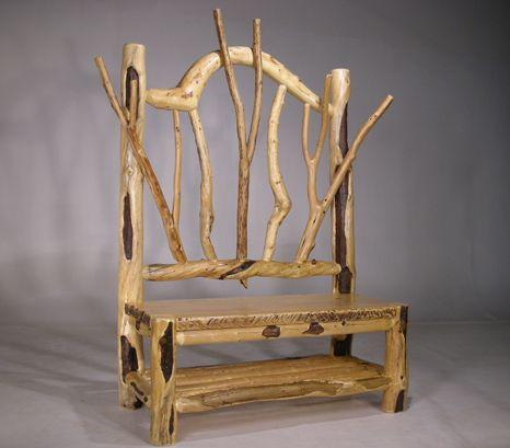 Bent Log Designs Specializes In Handbuilt, Rustic Log Furniture .