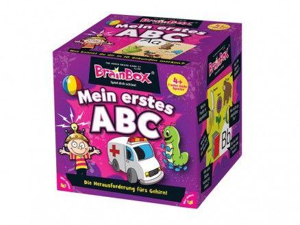 BrainBox - Mein erstes ABC empfohlen ab 4-5 Jahren Mit den reich illustrierten Karten lernen Kinder die Buchstaben des Alphabets in Groß- und Kleinschreibung, die Umlaute und schwierige Buchstabenkombinationen kennen.
