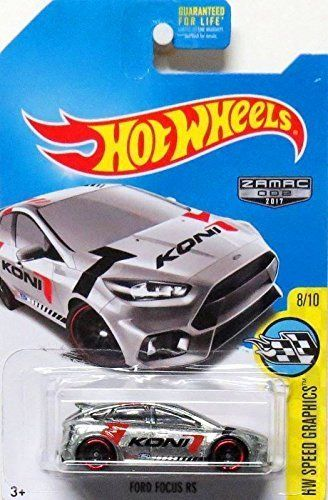 Hot Wheels 2017 Hw Speed Graphics Ford Focus Rs Exclusive Zamac