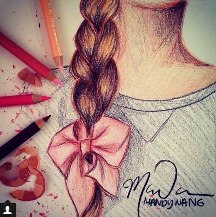 Классные нарисованные картинки девочек