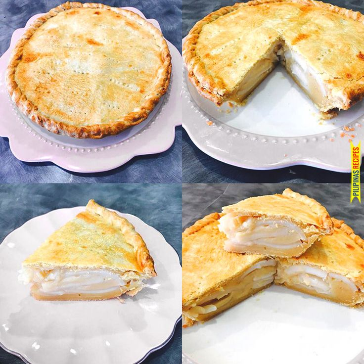"A well-known delicacies in the Philippines is Buko Pie. The recipe originated from the province of Laguna who is known to be the best ""Buko"" pies."