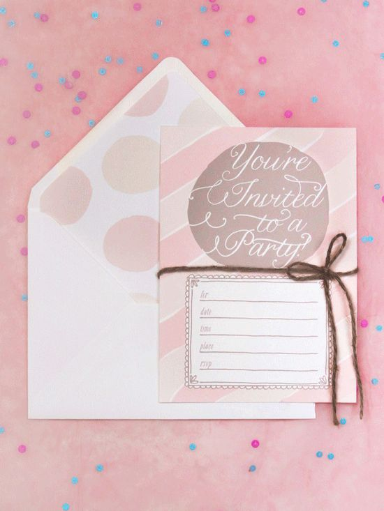 105 best Printable Invitation card images on Pinterest Invitation - best of sample invitation letter debut party