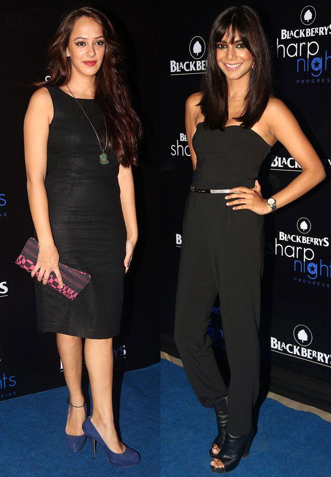 Hazel Keech and Juhi Pandey