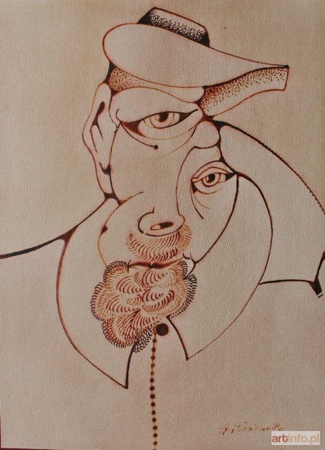 Henryk PŁÓCIENNIK ● Portret męski ●