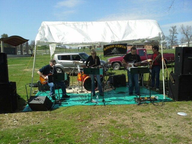 Brush creek playing at landrath park Joplin Missouri Benifiet for autism awareness