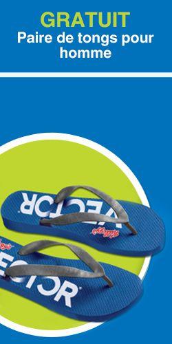 Obtenez une paire de tongs pour homme. Fin le 30 septembre.  http://rienquedugratuit.ca/echantillon-gratuit/vector-tongs-pour-homme/