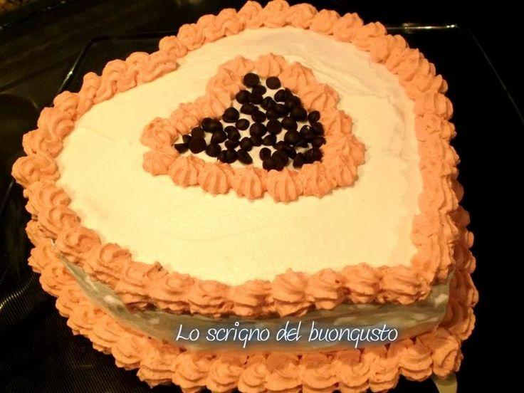 TORTA SAN VALENTINO  http://loscrignodelbuongusto.altervista.org/torta-san-valentino/                                                         #torta #SanValentino2017 #ricettedolci #foodblogger #likeit #likeforfolow