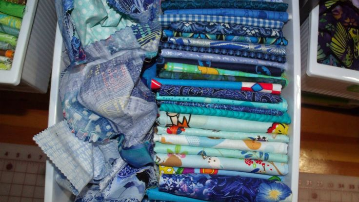 Get Your Crap Together: Organizing Fabric Scraps with Keep Calm and Carrion