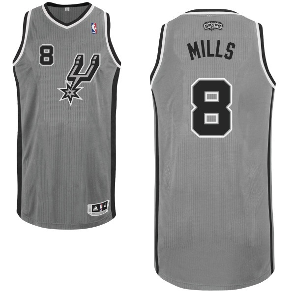 3126c23f668a ... 14 Danny Green Camo Name Number Jersey T-Shirt Patty Mills San Antonio  Spurs Grey Authentic NBA Jersey ...