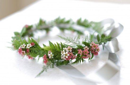 Make Your Own Floral Head Wreath | Polka Dot Bride