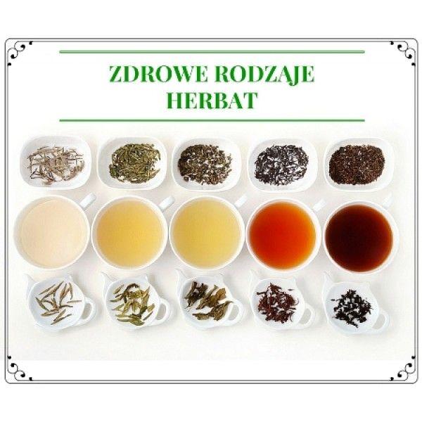 6 Zdrowych rodzajów herbat
