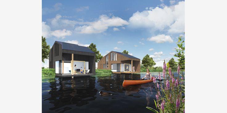 Leeuwarden, Friesland Het OeverHuis is een huis dat deels op de oever en deels aan de oever is gelegen. Een huis voor mensen die er van houden direct aan het water te wonen. Wonen op het beschutte nivo waar de meerkoeten, zwanen en eenden zich tussen het riet op het water begeven. Het huis bestaat …