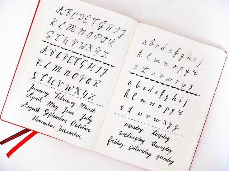 Best bullet journal lettering inspiration images on