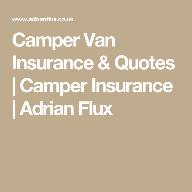 Camper Van Insurance & Quotes | Camper Insurance | Adrian Flux