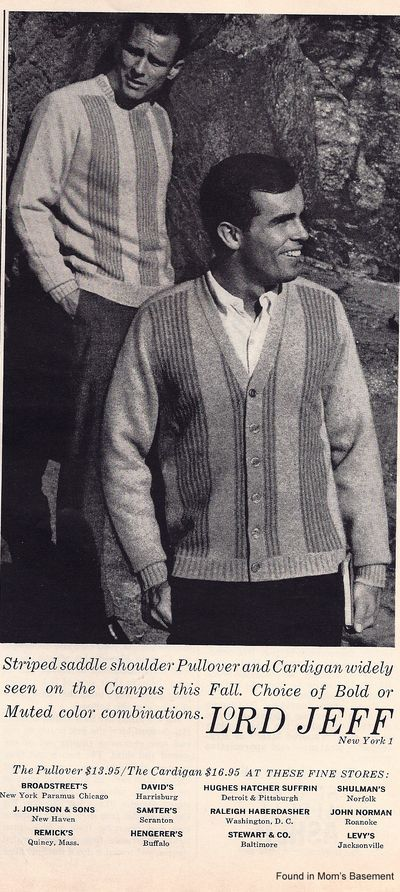 men's fashion 1962 - Google Search