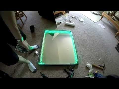 Led Bathroom Mirror Youtube best 25+ infinity mirror ideas only on pinterest   infinity mirror